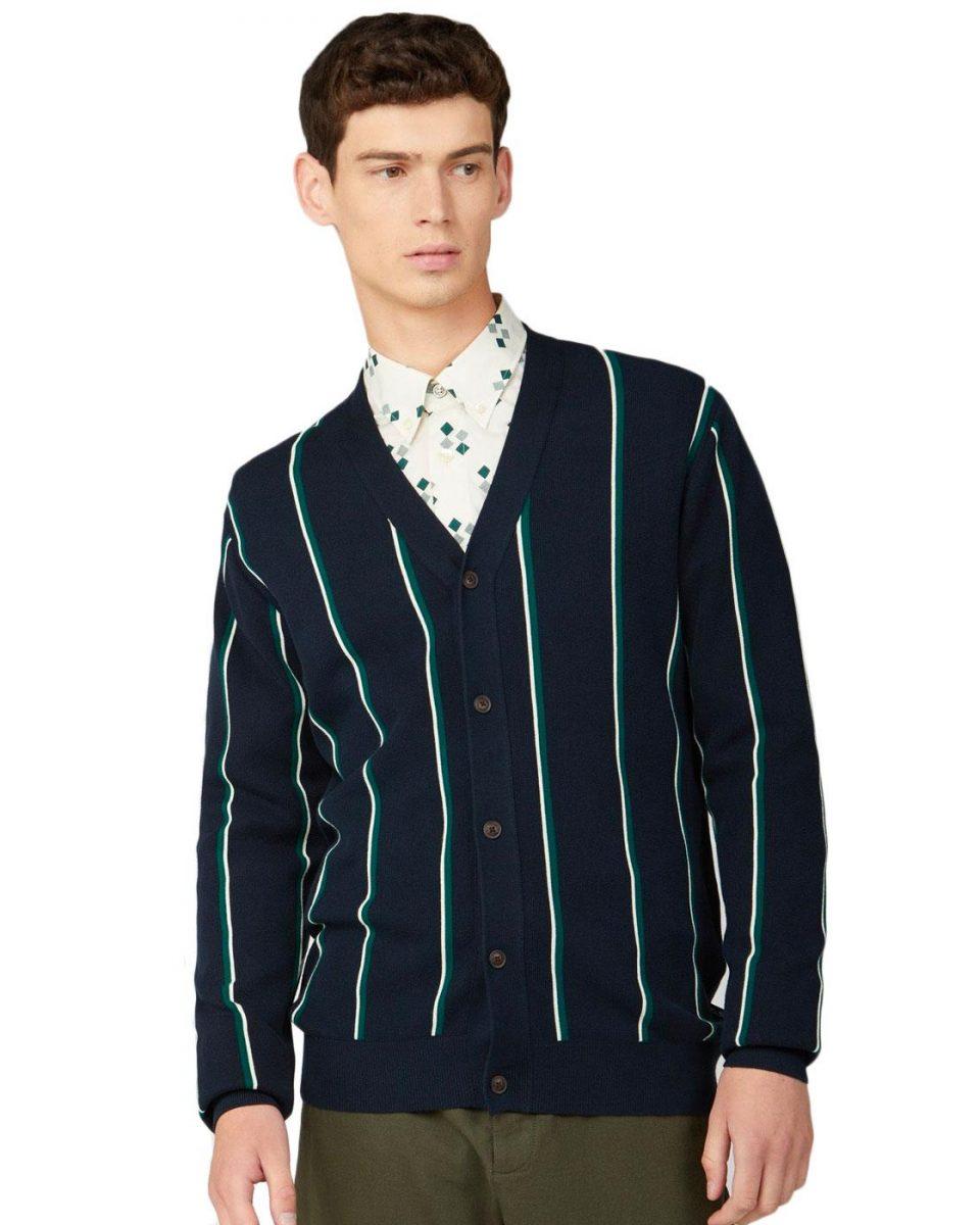 ben-sherman-knitted-stripe-cardigan1